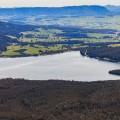 Overlooking Huntsman's Lake