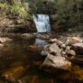 Downstream from Sensation Gorge Falls