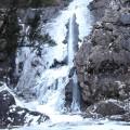 Meander Falls in winter