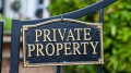 The Curious Case of Private Properties