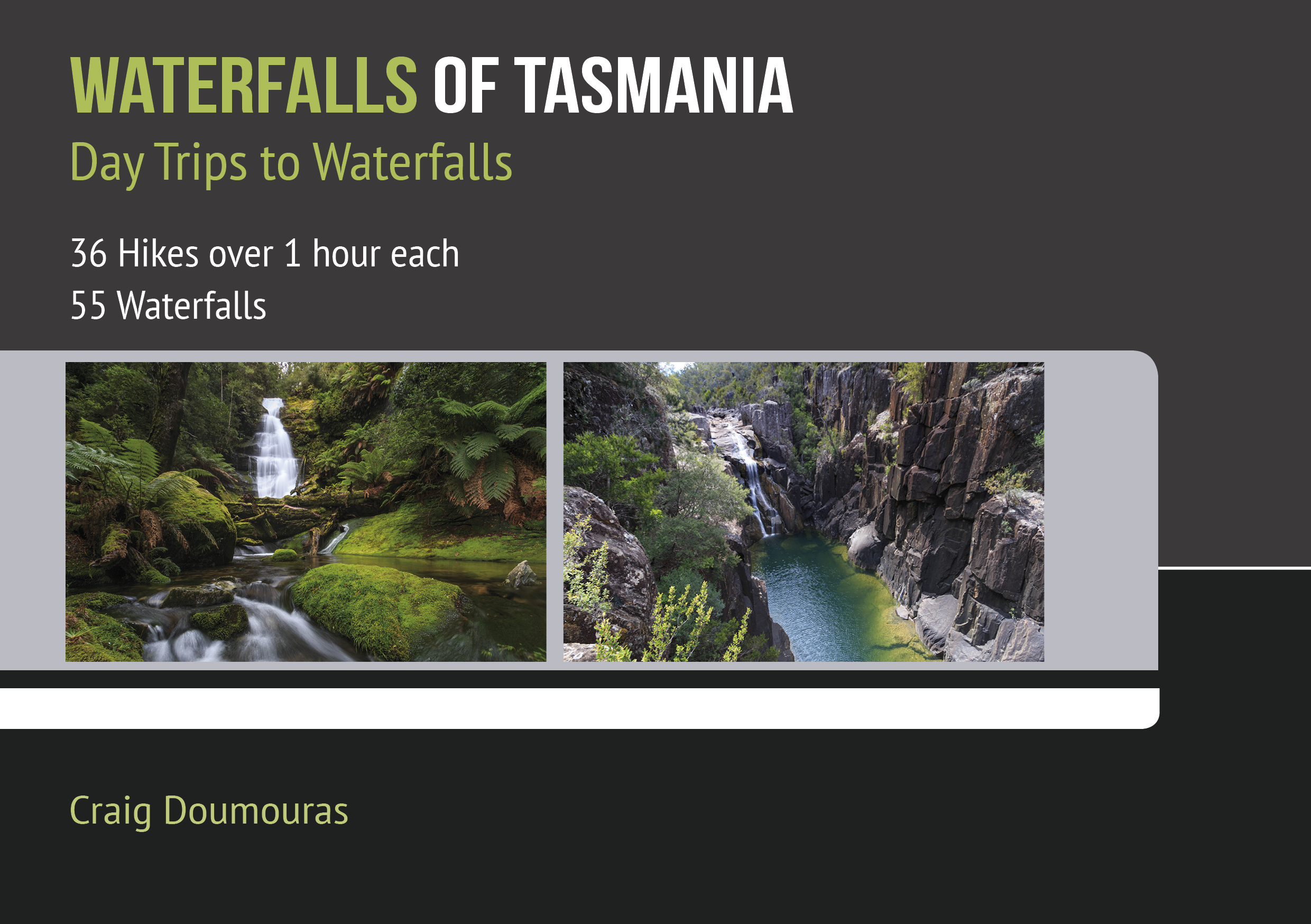 Waterfalls of Tasmania - Day Hikes to Waterfalls book cover